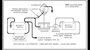 marine dual battery wiring diagram in boat perko switch on single