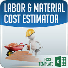 labor u0026 material cost estimator and job card template ms excel