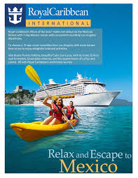ads and posters of royal caribbean cruise line anmol zubair