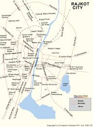 map of rajkot map of rajkot tourist map of rajkot travel map of rajkot city