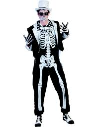 mens skeleton halloween costume photo album skeleton print