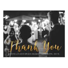 thank you postcards zazzle