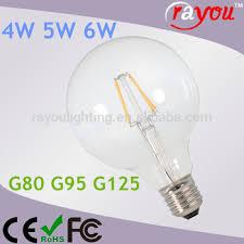 4w 5w 6w filament 4w led light bulb 24v high brightness led