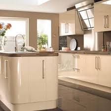 gloss kitchens ideas image result for ivory gloss kitchen tiled floor house