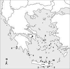 ancient greece map worksheet worksheets