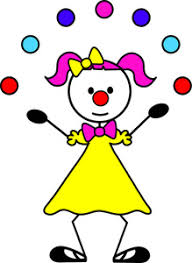 clowns juggling balls clown clipart image clown juggling balls