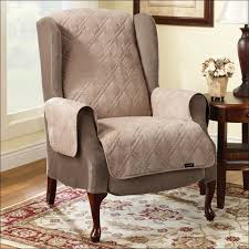 furniture marvelous chair and ottoman slipcovers custom