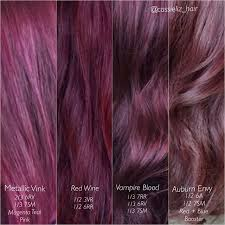 purple hair color formula cute hair tutorials about 1000 ideas about red violet hair on