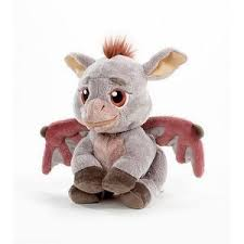 shrek charactr gray donkey stuffed plush toy baby dragon 9