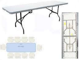 3 foot folding table large 8ft folding table