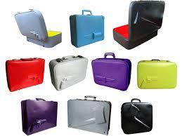 koffer design design koffer pink wolf schöner wohnen