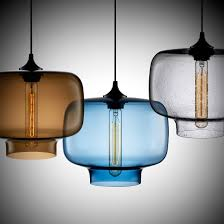 Glass Pendant Lights For Kitchen Island Awesome Coloured Glass Pendant Light 64 About Remodel Clear Glass