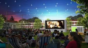 Botanical Gardens Open Air Cinema A Cinema In Your Own Backyard Almost Elwood Real Estate