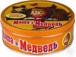 cookies masha medved llc masha bear 400g russia