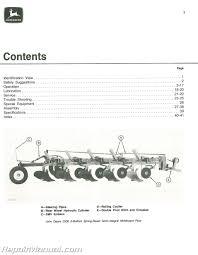 used john deere 2500 spring reset semi integral moldboard plows