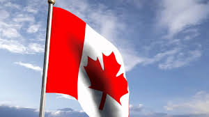 Flag Of Canada Flag Of Canada Blowing In The Wind Chroma Key Effect