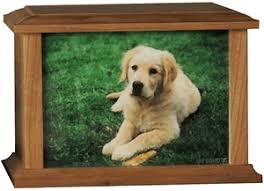 dog urns large wooden photo pet urns urns