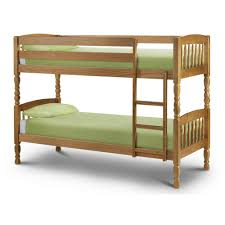 Solid Pine Bunk Beds Julian Bowen Lincoln 2ft6 Small Single Bunk Bed Up10119
