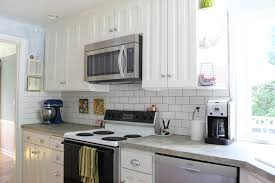 Best Backsplashes For Kitchens - kitchen cool kitchen backsplash white cabinets dark countertop