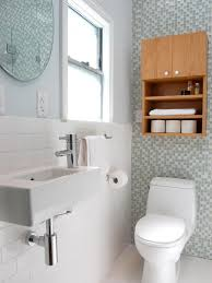 cool small bathrooms cool small bathroom shelving ideas