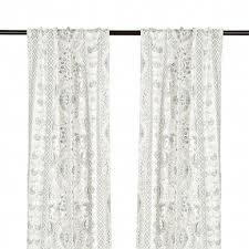 Paisley Curtains White Paisley Curtains Home Ideas