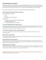 Microsoft 2010 Resume Template Microsoft 2010 Resume Templates Microsoft Resume Template Word