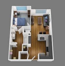 1 Bedroom House Plans Floor Plans Of Park Place At Waco In Waco Tx