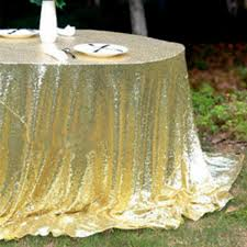Round Elastic Tablecloth Online Get Cheap Gold Round Tablecloths Aliexpress Com Alibaba