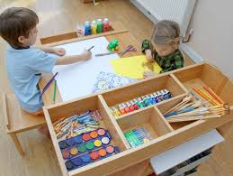 Play Table For Kids Tremendous Art Table Kids Furniture Pinterest Play Table Tables