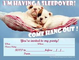 invitations for sleepover party i u0027m having a slumber party