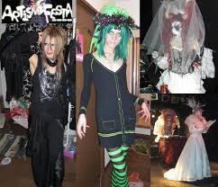 Cross Dressing Halloween Costume Dj Sisen U0026 Gpkism Party Rock Bands 2nd Street Jazz Harlow