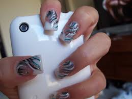 nail art has become a fad with both the young and fashion