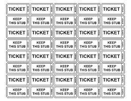 raffle ticket printing paper free ticket template printable tickets ticket template raffle