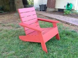 modern adirondack chair by drainyoo lumberjocks com