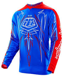 troy lee designs gp pinstripe jersey blue motocross jerseys troy