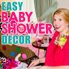 easy baby shower decorations easy baby shower decor daily