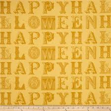 sew scary happy halloween letters light gold discount designer