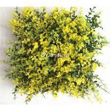 artificial foliage panel for wall decoration dongyi
