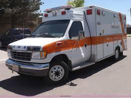 1992 ford econoline e350 ambulance item h1871 sold july