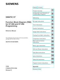 siemens simatic s 7 300 400 function block diagram for s7 300