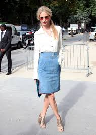 9 classic and cute denim skirt looks for all styles pretty designs