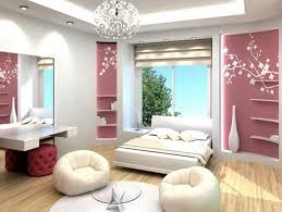 Modern Bedroom Chair by Furniture Fancy Wall Mural And White Fur Rug Beneath Bed Idea