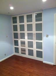 replacing glass in a door ikea hackers pax wardrobe turned custom reach in closets get rid