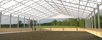 clear ridge horse arena design trilogy barn and stable company