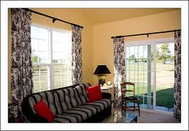 Sliding Drapes Curtains For Sliding Glass Doors Thermal Curtains For Sliding