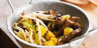 cuisine chinoise facile sauté de boeuf à la chinoise facile recette sur cuisine actuelle