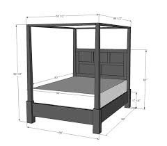 Wood Canopy Bed Frame Queen by Best 25 4 Poster Beds Ideas On Pinterest Poster Beds 4 Post