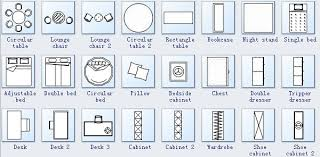 Furniture For Floor Plans Floor Plan Symbols