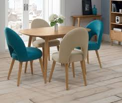 buy bentley designs oslo oak dining set 4 seater fixed table