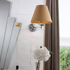 buy heathfield u0026 co adele bathroom wall light chrome ivory amara